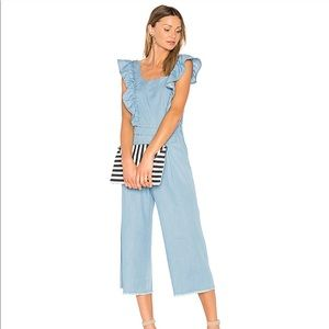 Ei8ht Dreams Chambray Jumpsuit Size M